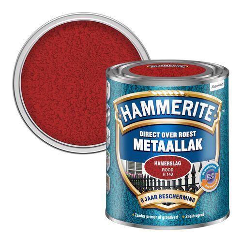 Hammerite hamerslag rood 750ml