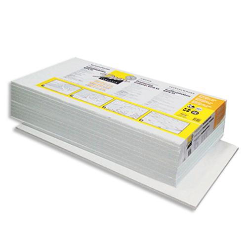 Decor isolatiepaneel  'Polystyreen' 100 x 50 x 2 cm - 12 stuks