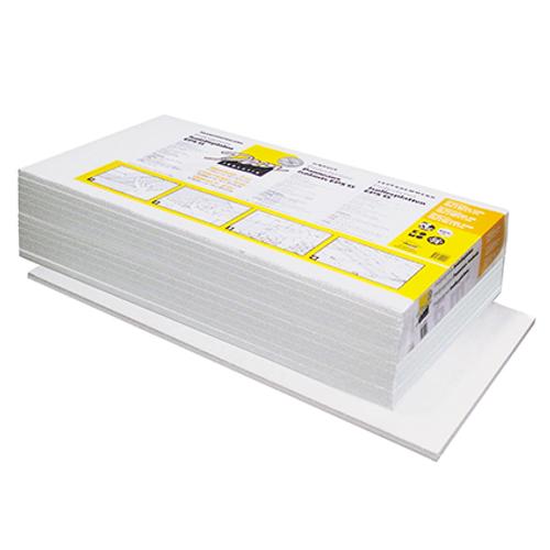 Decor isolatiepaneel 'Polystyreen' 100 x 50 x 4 cm - 6 stuks