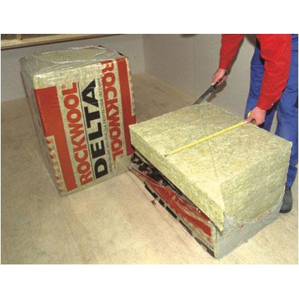 Rockwool isolatiepaneel 'Delta Rockroof' 80 x 50 x 6 cm - 10 stuks