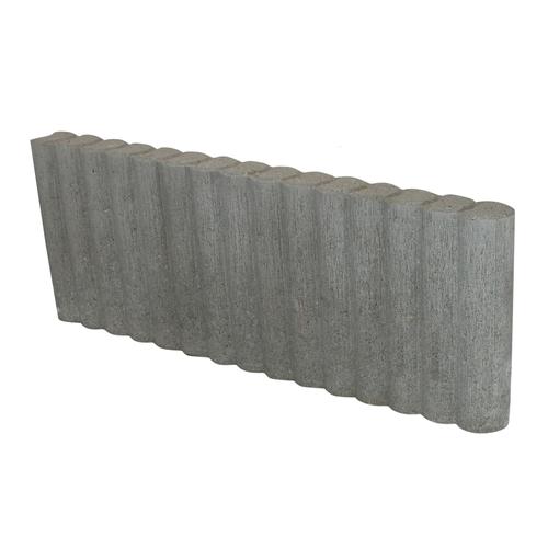 Decor palissade grijs 66,6 x 25 x 6cm