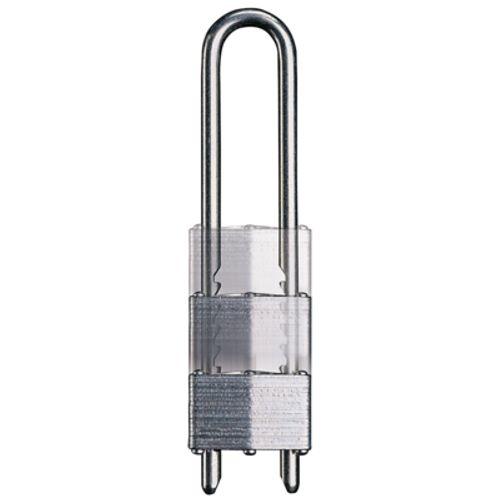 Master Lock hangslot 44mm gelamineerd + verstelbare beugel 79/136mm