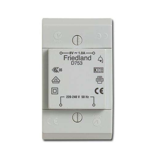 Friedland transformator 8 V