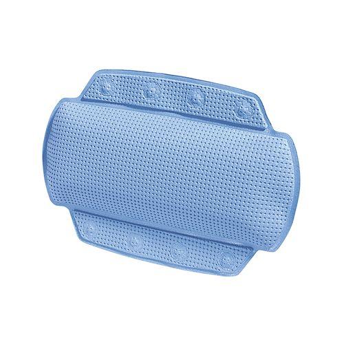 Coussin de nuque pour baignoire Spirella Alaska bleu clair
