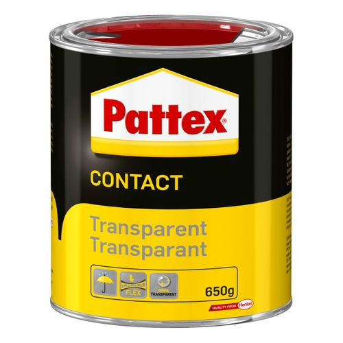 Colle Pattex Contact Transparent 650g