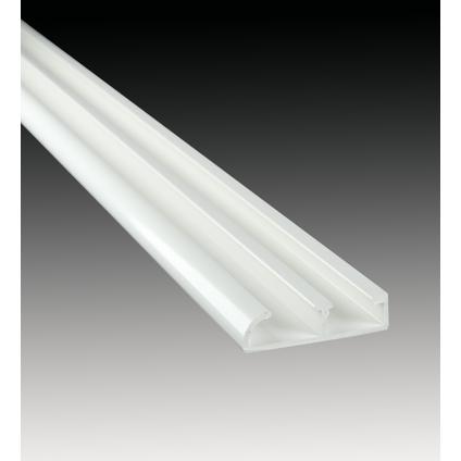 Mac Lean rail & roll geleidingsprofiel wit 250cm