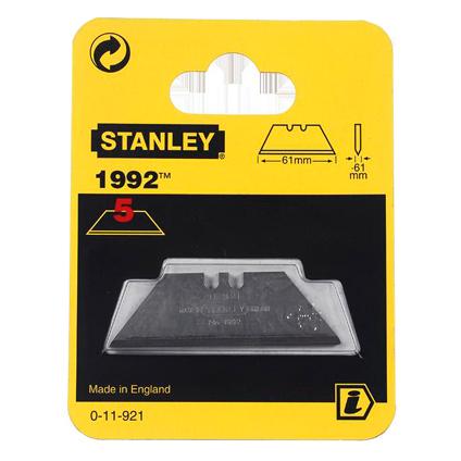 Lames de couteau Stanley '0-11-921' modèle long - 5 pcs