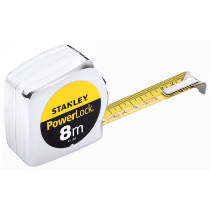Stanley rolmeter Powerlock 8m