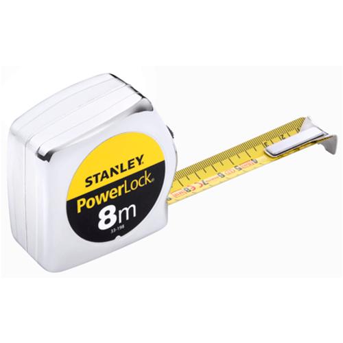 Mètre ruban Stanley 'Max' magnétique 8 m