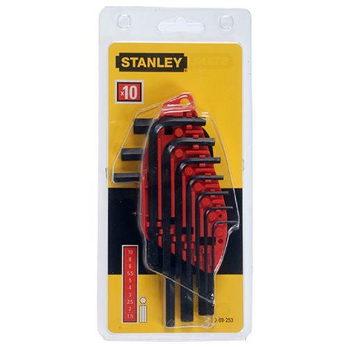 Stanley stiftsleutelset 10-delig