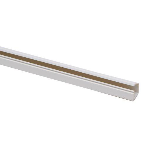 Kopp plintgoot 13x12,5mm zelfklevend wit 2m