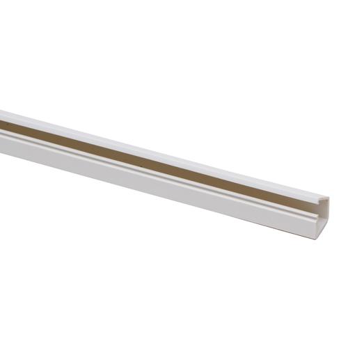 Kopp kabelgoot 13x12,5mm zelfklevend wit 2m