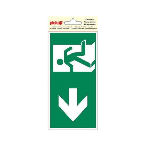 PickUp pictogram 'Nooduitgang links'
