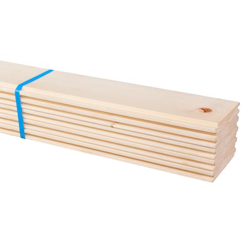 Plancher massif JéWé sapin 17 mm 210 x 8,8 cm