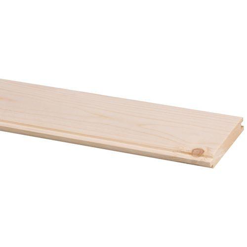Lame de plancher Jéwé sapin massif 270x8,8cm 17,5mm 1,19m²
