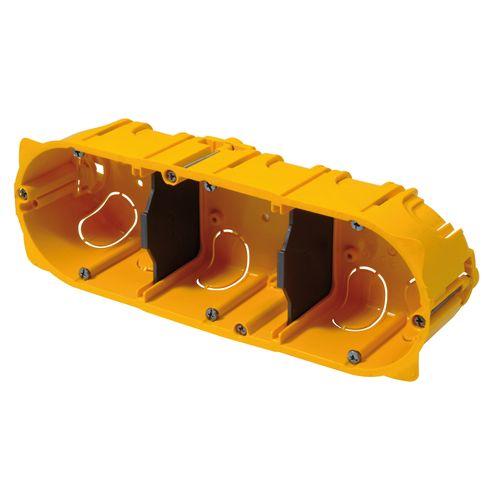 Legrand inbouwdoos 3-voudig horizontaal 71mm
