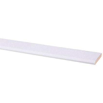Plint MDF wit stuc 8x45mm 260cm