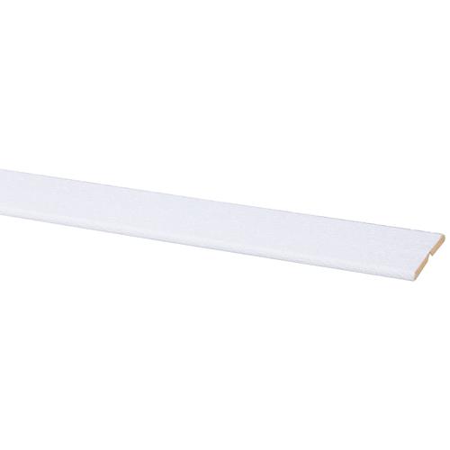 Wand/ plafond vouwhoek MDF 24X24mm wit stuc 260cm