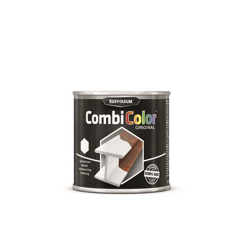 Rust-Oleum CombiColor Original grondlaag en metaallak donker grijs hamerslag 250ml
