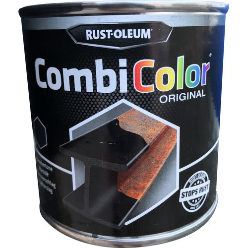 Rust-Oleum 'Combi Color' hamerslaglak zwart 250ml