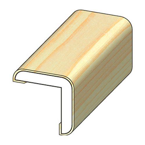 Moulure angle JéWé pin 3,4x3,4x240cm