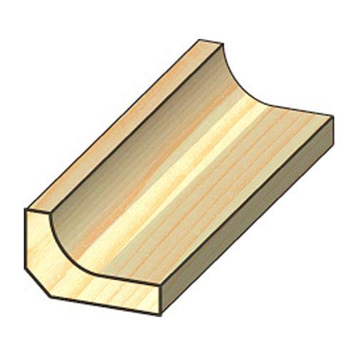 Latte creuse JéWé pin 1,6x2,8x240cm