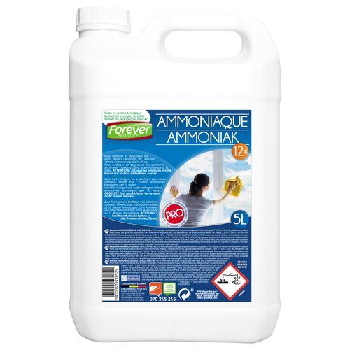 Ammoniaque 12 p/c Forever 5 L