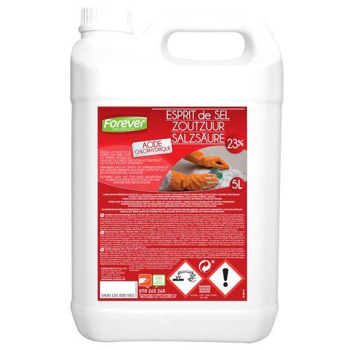 Acide chlorhydrique 23 p/c Forever 5 L