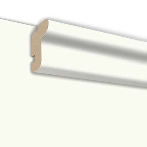 HDM plafondlijst gelakt wit