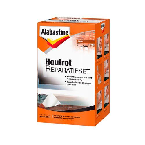 Alabastine houtrotvuller premium klusset 500gr