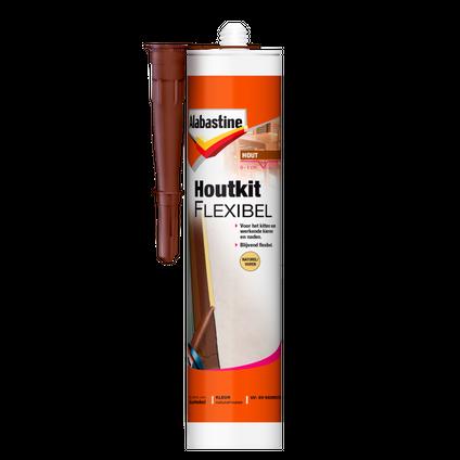 Alabastine houtkit flexibel naturel vuren 300ml