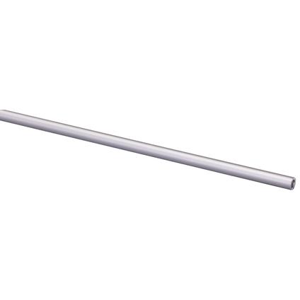 Ronde buis aluminium geanodiseerd Ø 6mm naturel 100cm