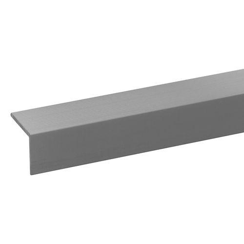 Traplijst aluminium geanodiseerd 17,5x20mm naturel 200cm