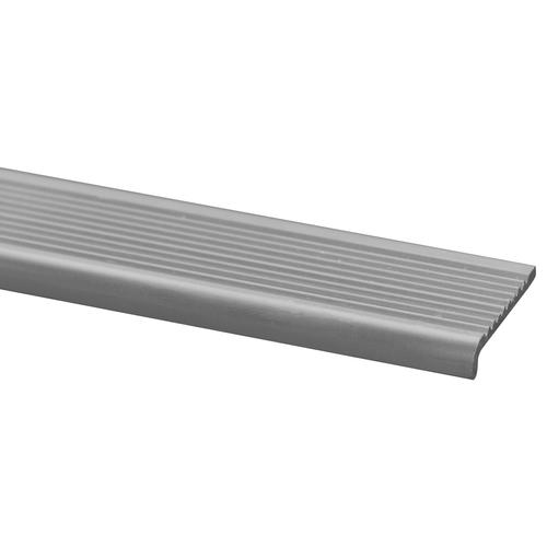 Traplijst aluminium 6 x 25mm 100cm