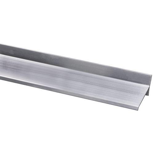 Lekdorpel aluminium 17x34mm 200cm