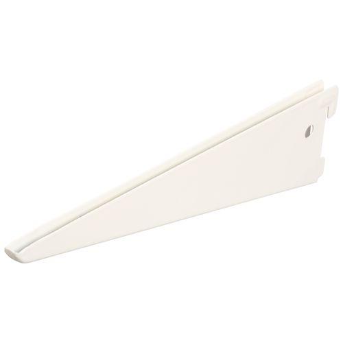 Porte-étagère F Duraline double blanc 27 cm