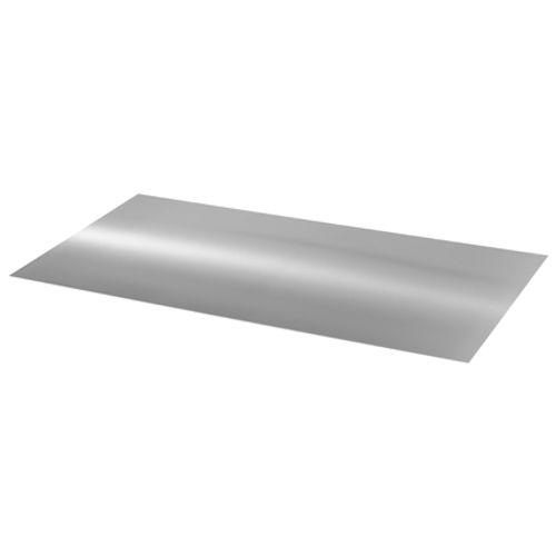 Aluminium plaat naturel 1,0 mm 100x50 cm