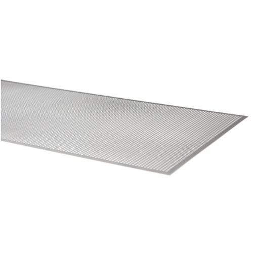 Aluminium plaat geperforeerd 1,0 mm 100x50 cm