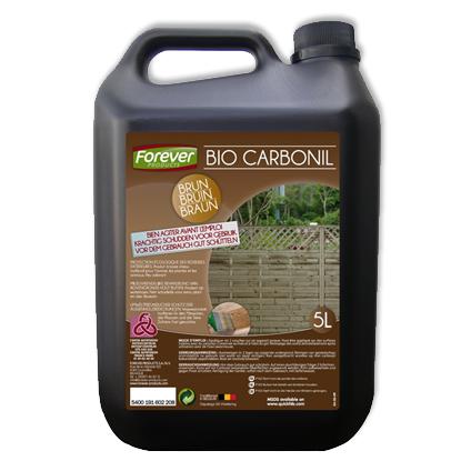 Produit de protection bois Forever 'Bio Carbonil' brun 5L