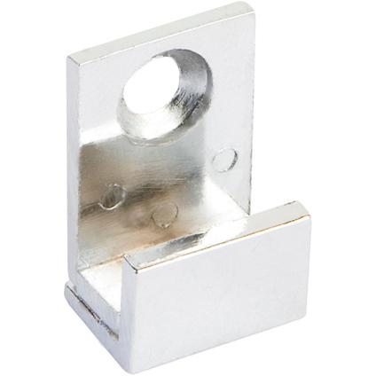 Pierre Pradel U bevestiging spiegel zilver - 4 stuks