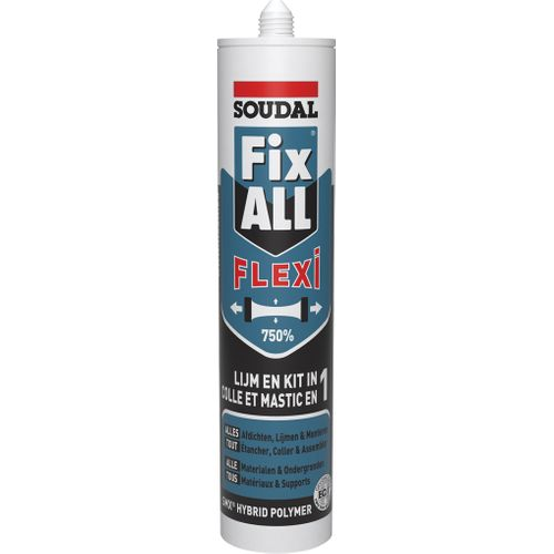 Soudal lijmkit Fix ALL Flexi Wit 290ml