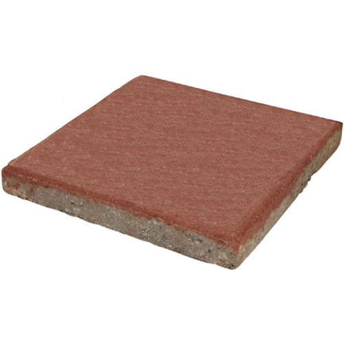 Decor betontegel rood 30 x 30cm 0,09m²