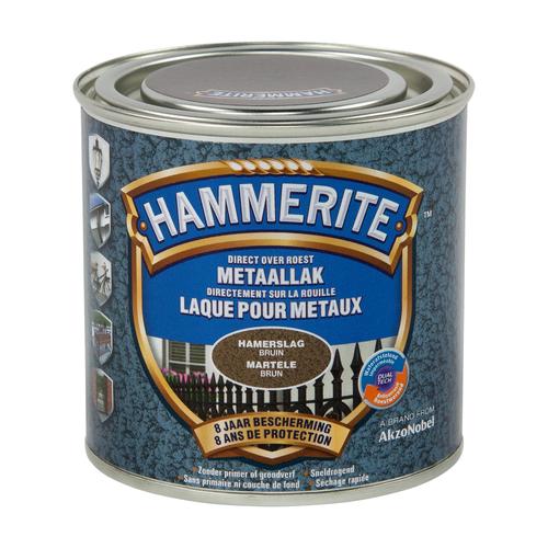 Hammerite hamerslaglak bruin 250ml