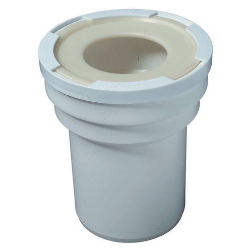 Wirquin rechte wc-aansluiting wit