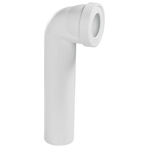 Pipe wc longue Wirquin coudée Ø100mm