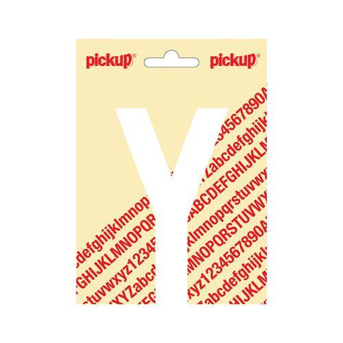 Pickup kleefletter Y Nobel 120mm wit