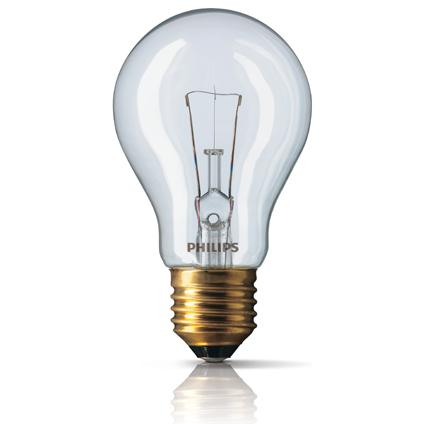 Lampe à incandescence Philips 'Standard' 60W