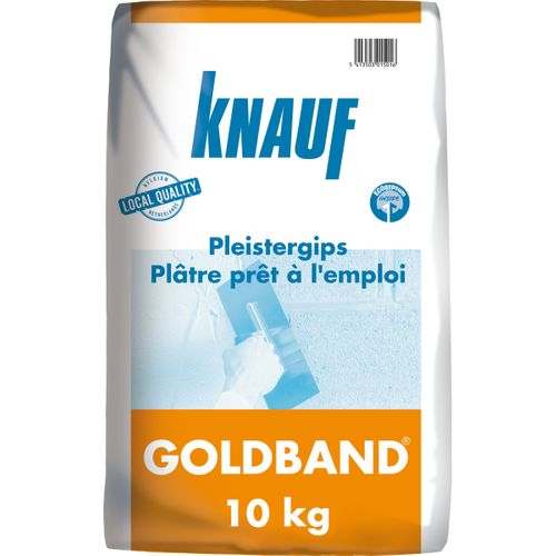 Knauf pleister 'Goldband' 10 kg