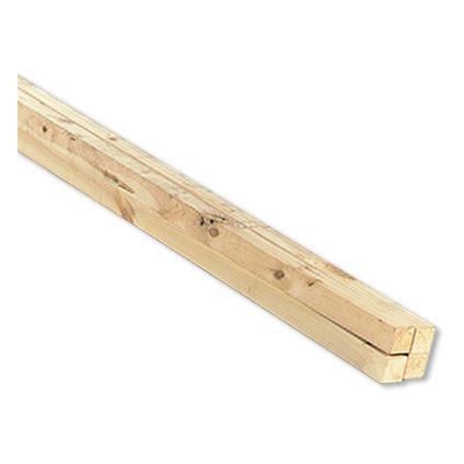 Geschaafd hout witte Noorse den 270x6,9x1,8cm - 6 stuks
