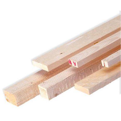 Ruw hout rode Noorse den 300x4,6x4,6cm - 4 stuks